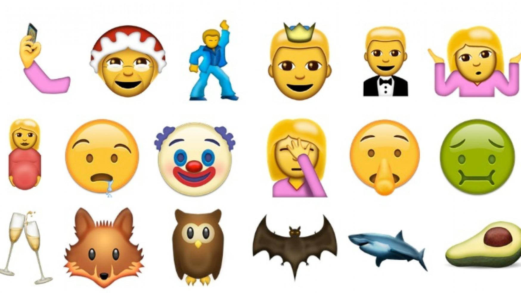 Resultado de imagen para nuevos emojis para whatsapp